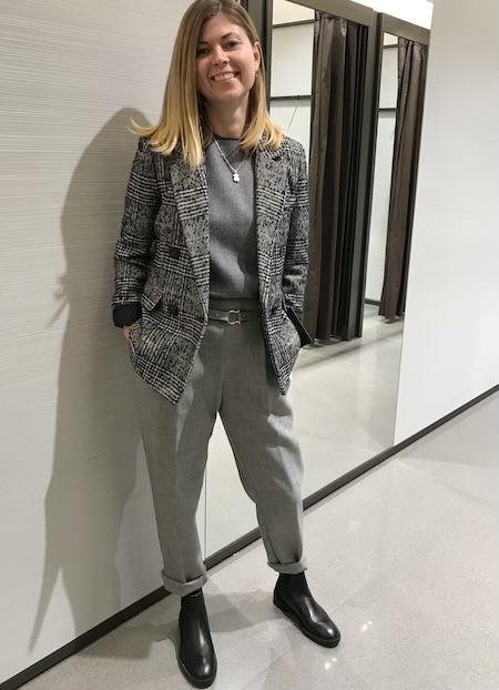 Отзыв Александры после шопинга со стилистом Инной