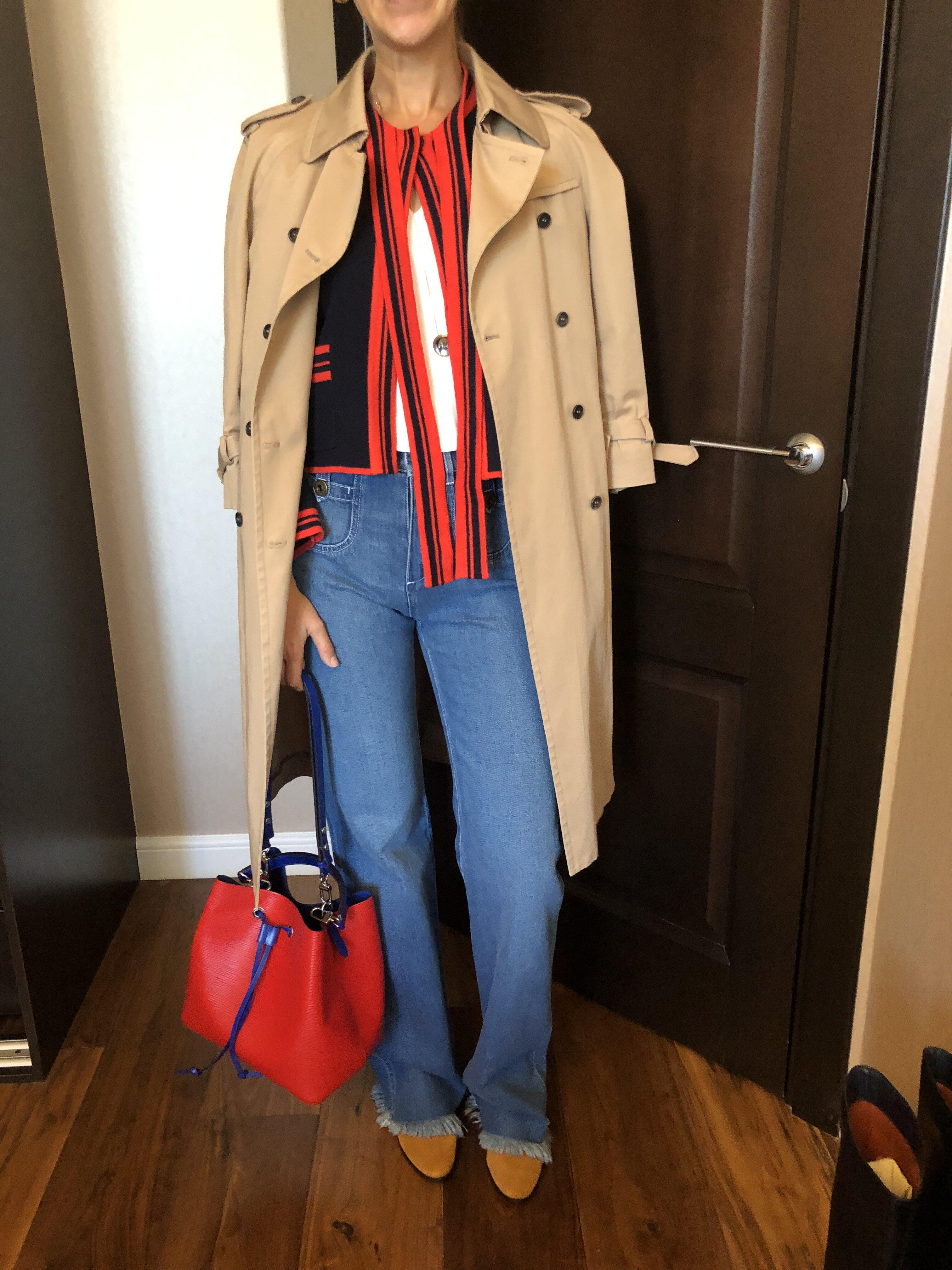 Разбор гардероба для Ольги